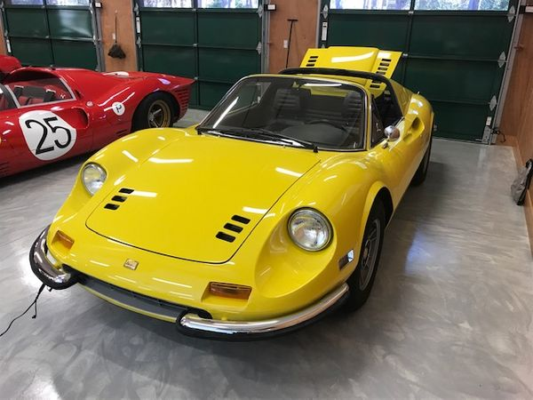 Brighten Your Days In A Freshly Restored 1972 Ferrari 246 GTS Dino