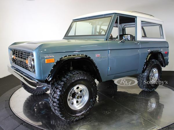 This Custom 1974 Ford Bronco Is Ready To Blaze The Trails