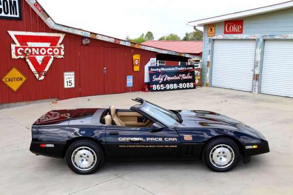 Black 1986 Chevy Corvette Pace Car Is A Lesson In 'Vette History