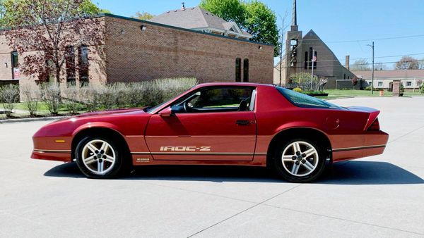 Flash Back In Time With This Original 1987 Chevrolet Camaro IROC-Z