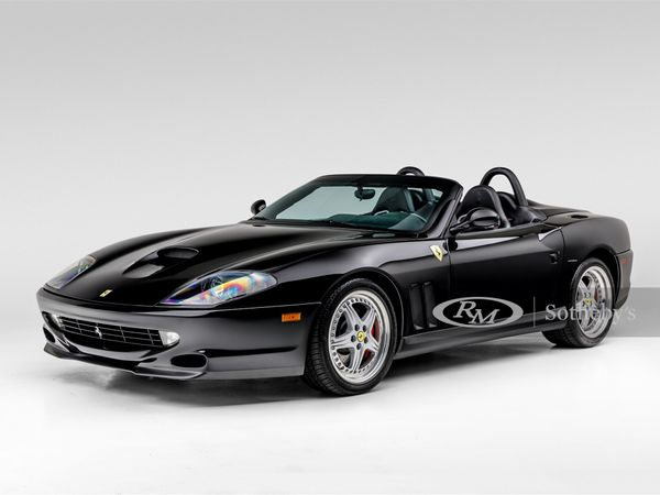 Rare 2001 Ferrari 550 Barchetta Is A Majestic Black Stallion