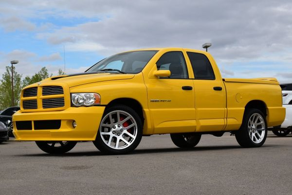 2005 Dodge Ram SRT-10 Yellow Fever Is An Ultra-Rare Muscle Truck