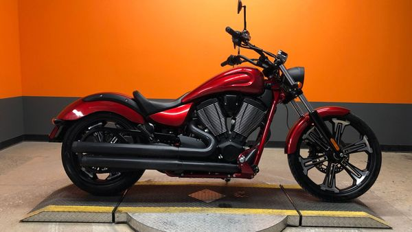 Motorcycle Monday: Ride Sinister On This 2017 Victory Vegas 8-Ball