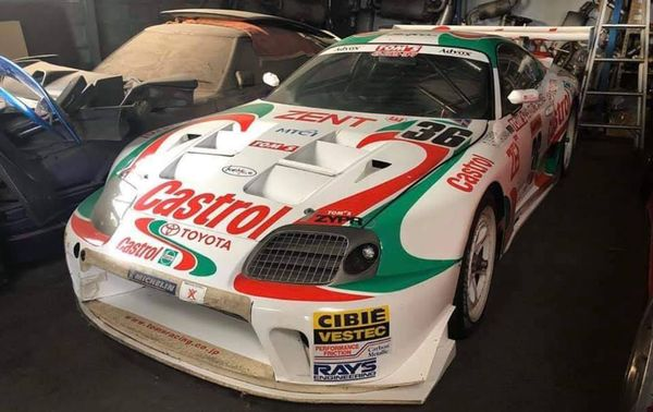 Castrol TOM'S Toyota Supra Racecar Surfaces From Dusty Slumber
