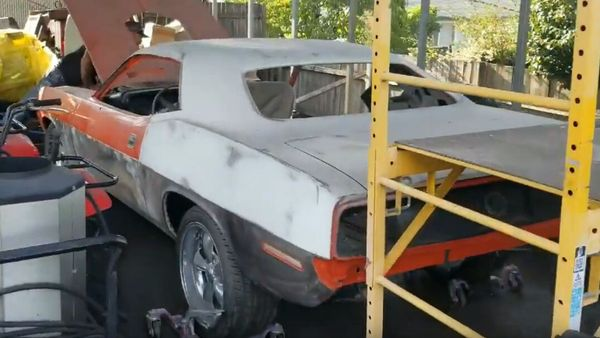 See This 1970 Hemi 'Cuda Barn Find