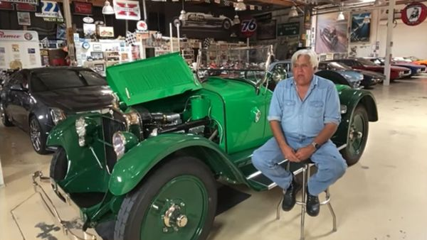 Watch 'The Love Of Cars' Hosts Interview Jay Leno