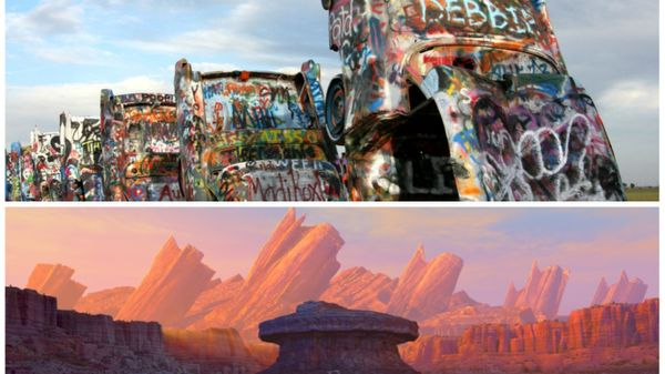 Real Places To Stop On Iconic Route 66 From Disney Pixar's Cars