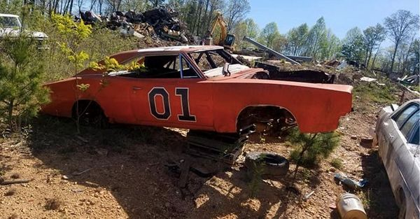 General Lee Graveyard: 'Dukes Of Hazzard' Jump Cars Spotted In Georgia Junkyard