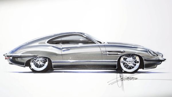 What Do You Think Of Chip Foose's Reimagined Jaguar E-Type Coupe?