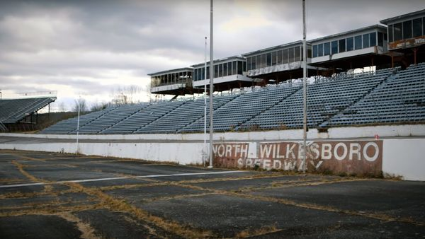 Dale Jr. Helps Clean Up North Wilkesboro Speedway For iRacing Scan
