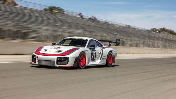 2020 Porsche 935 'Moby Dick' Track Car Hammers For $1.3M