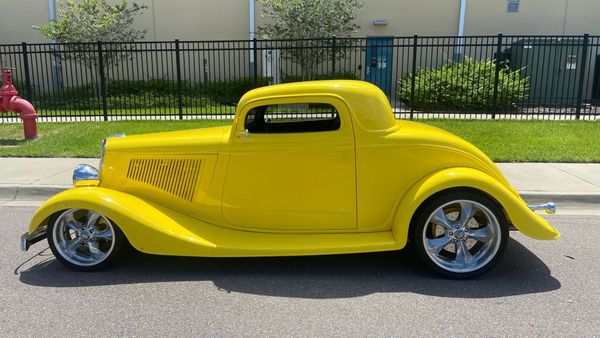Built 1933 Ford Three-Window Coupe Ready For Hot Summer Nights