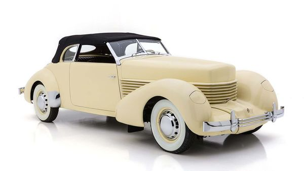 1937 Cord 812 Is Artwork In Motion