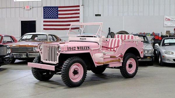 1944 Willys Jeep Celebrates Breast Cancer Awareness