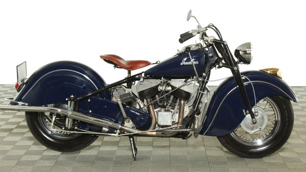Motorcycle Monday: 1948 Indian Chief