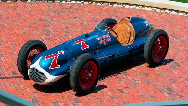 Bolster Your Collection With This 1949 Indy 500 Winning Racecar