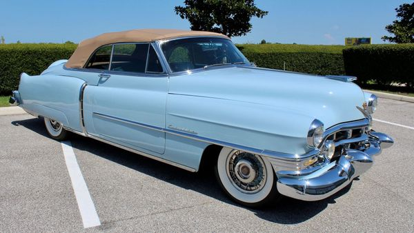 1952 Cadillac Series 62 Boasts Museum-Quality Presentation