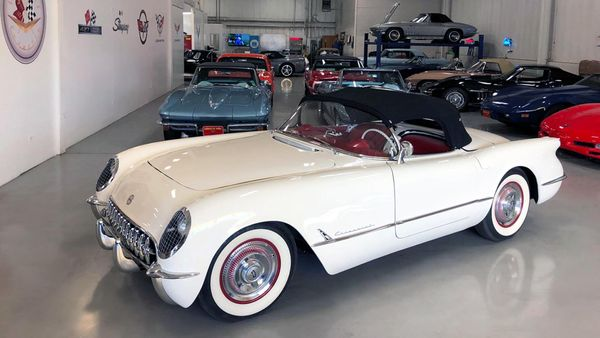 Freshly Restored 1953 Chevrolet Corvette Is Flawless