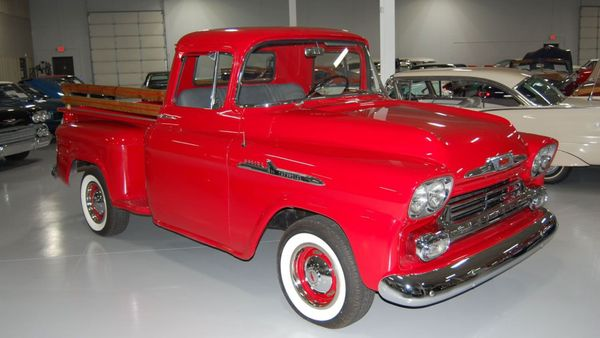Check Out This Beautiful 1958 Chevy 3100 Apache Stepside Pickup