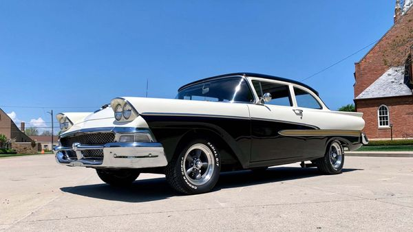 1958 Ford Fairlane Restomod Is One Cool Cruiser