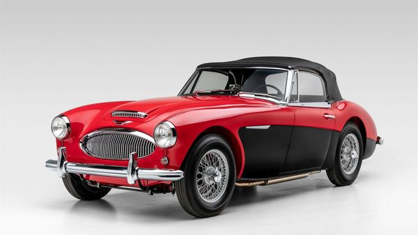 1963 Austin-Healey 3000 MKII BJ7 Makes Drop-Top Driving Amazing