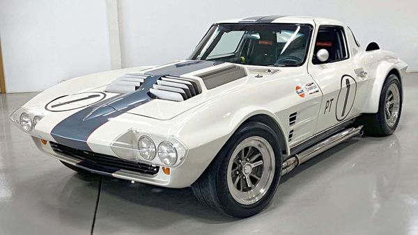 1965 Chevy Corvette Grand Sport Tribute Packs A Can-Am Racing Engine