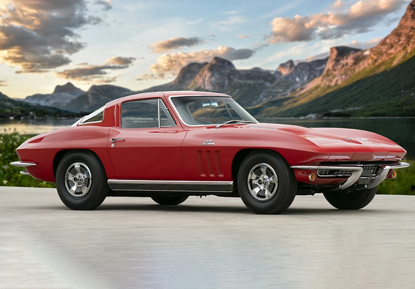 Paint The Town Red In A Stunning 1966 Chevy Corvette Stingray