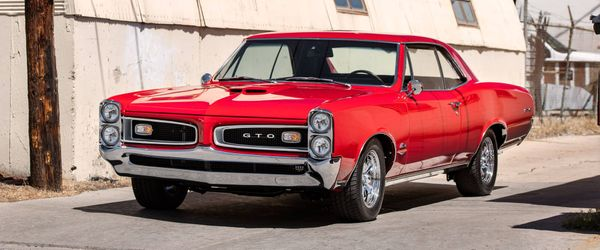 Paint The Town Red In A Restored 1966 Pontiac GTO