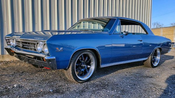 1967 Chevrolet Chevelle Restomod Hides A Supercharged LSA V8