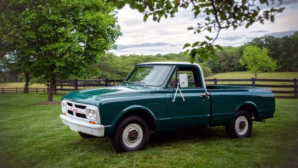 Elvis Presley's 1967 GMC Ranch Truck Up For Grabs