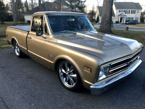 Cruise In A 1968 Chevy C10 Restomod Full Of Low, Show, And Go