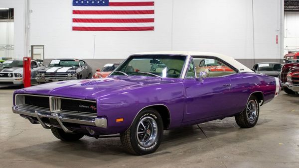 Plum Crazy 1969 Dodge Charger R/T Tribute Looks The Part