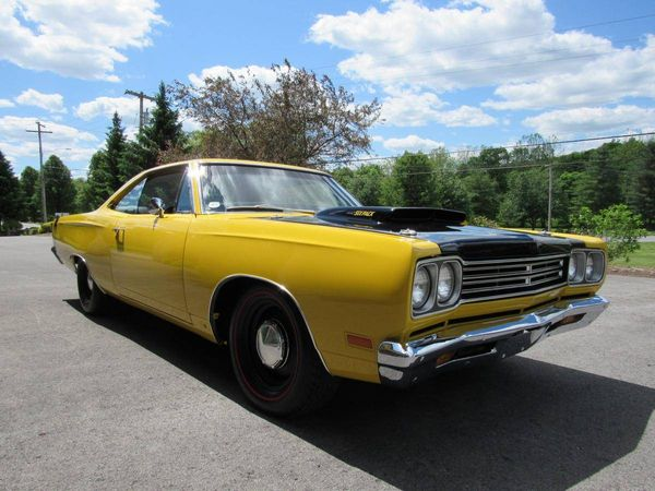 Steal The Show In A Bold 1969 Plymouth Road Runner 440 Six-Pack