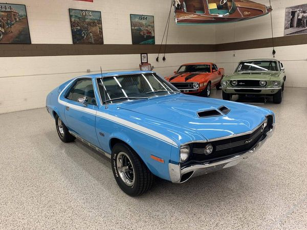 Clear Garage Space For This Rare And Restored 1970 AMC AMX