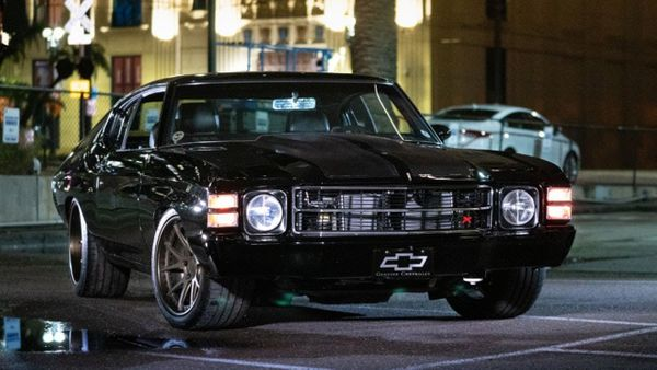 Smoke 'Em All In A Sinister Supercharged 1971 Chevy Chevelle Restomod