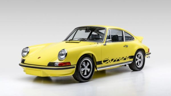 Well-Preserved 1973 Porsche 911 Carrera RS Makes For A Great Investment