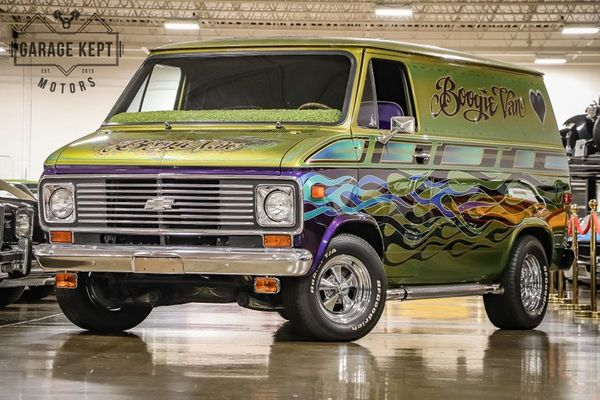 Play That Funky Music In A Custom 1975 Chevrolet G10 Boogie Van