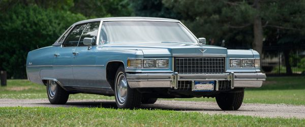 Stay Large And In-Charge With This 1976 Cadillac Sedan de Ville