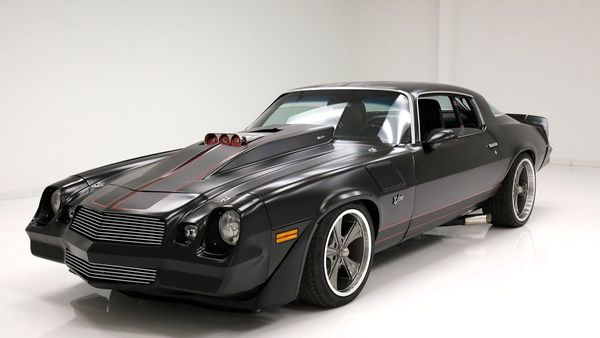 Restomod 1979 Chevy Camaro Is Ready To Rip
