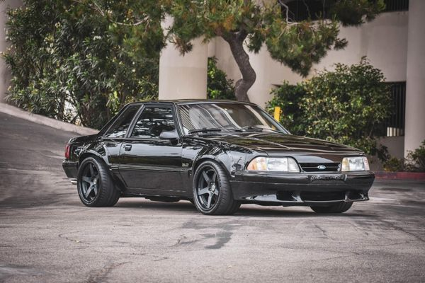 Matt Farah's Modded 1988 Ford Mustang SSP Wide-Body For Sale