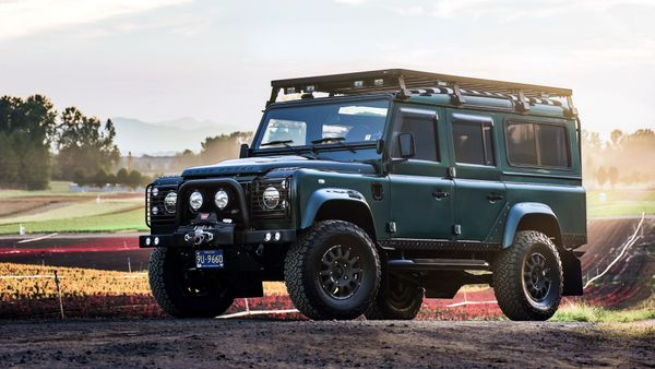 Restored 1992 Land Rover Defender Is A Luxury Off-Roader