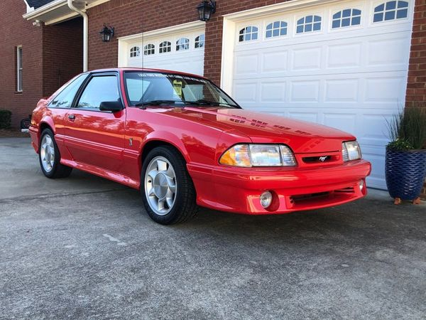 Roll Out In A Rare 1993 Ford Mustang Cobra With Just 3K Actual Miles