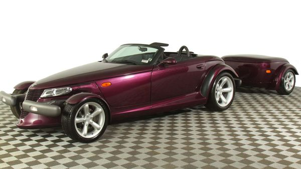 225-Mile 1997 Plymouth Prowler Is Museum Grade