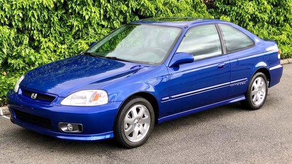 2000 Honda Civic Si Sets Model Record Auction Price