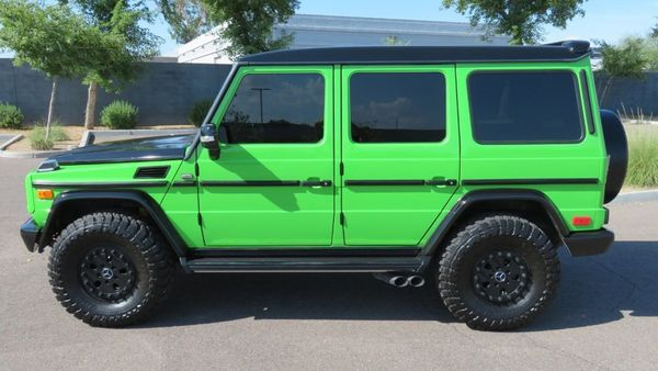 Custom 2002 Mercedes-Benz G500 Dominates All Terrain In Style