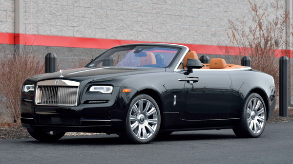 Roll In Stylish Luxury With This 2016 Rolls-Royce Dawn Convertible