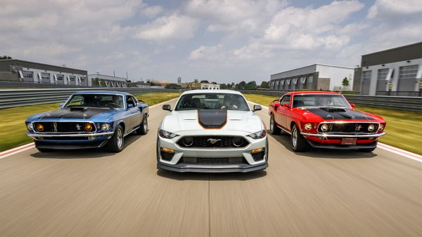 Ford Mustang Mach 1 Returns Ready To Dominate The Track