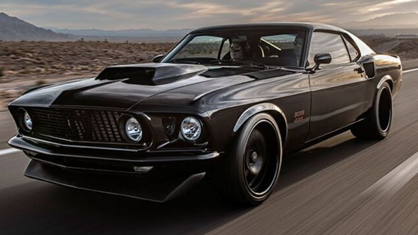 Ford Mustang Boss 429 SEMA Show Car For Sale