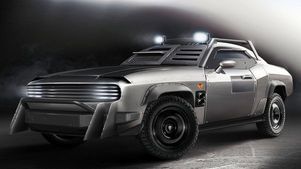 What Do You Make Of This Armored Dodge Challenger?