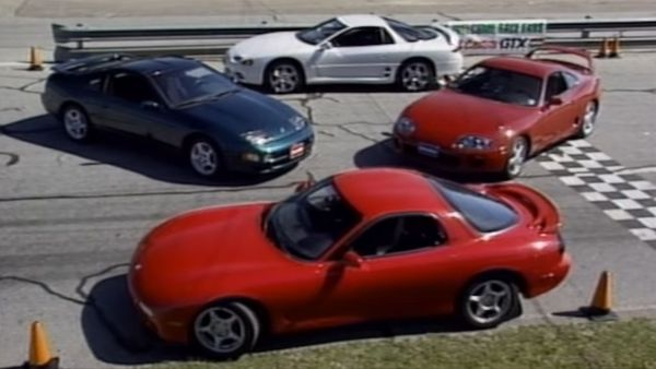 Watch Four 90s Asian Performance Cars Duke It Out In Their Prime